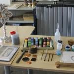 Herramientas y útiles de esmaltado