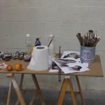 Los útiles del pintor