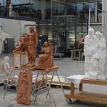 Taller de modelado, talla y escultura. Modelado en barro y escultura en mármol.