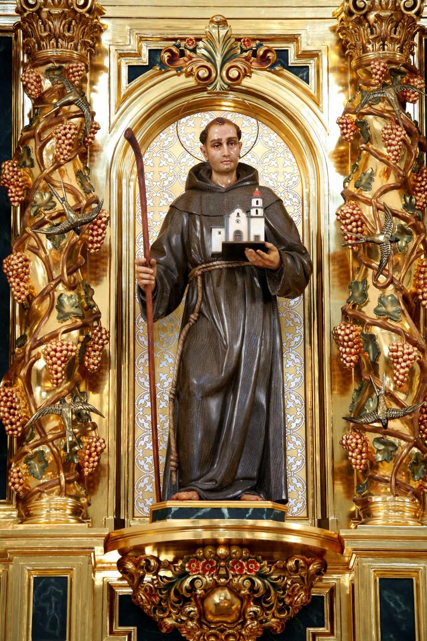 S. S. Francisco anuncia la canonización del beato fray Junípero Serra