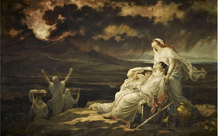 Hector Leroux. Herculano, 23 de agosto del año 79, 1881