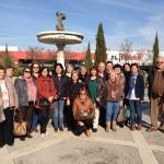 """Visita de los alumnos del curso """"Alcalá, mosaico de culturas"""" (Alcalá de Henares)"""