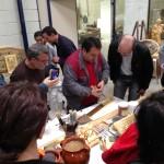 Visita de los alumnos del curso de Restaurador de Muebles del CFO Usera