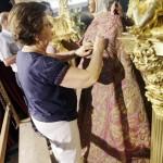 A solas con la Virgen del Sagrario